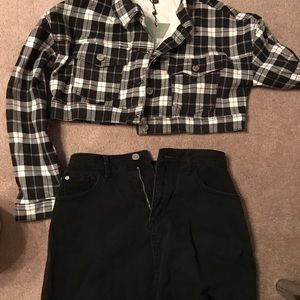 Jacket & Skirt from Missguided.
